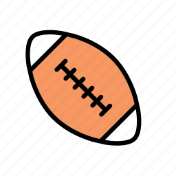 american football, ball, game, plaything, sport, toy, toys icon