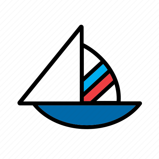 boat, game, sail, sailing, sea, toy, transport icon