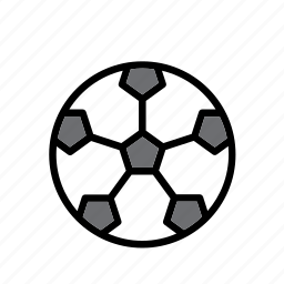 ball, football, game, plaything, soccer, sport, toy icon