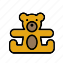 bear, game, plaything, teddy, teddybear, toy, toys icon