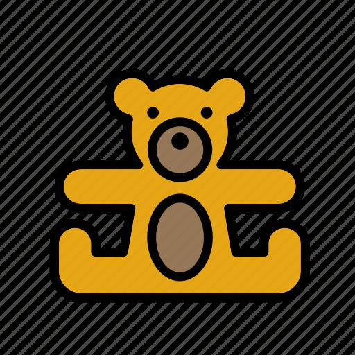 bear, game, plaything, teddy, teddybear, toy, toys icon