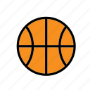 ball, basket, basketball, game, plaything, sport, toy icon