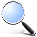 find, glossy, magnifying glass, search, zoom icon
