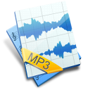 file, mp3, sound icon