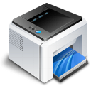 hardware, print, printer icon
