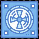 air, equipment, fan, ventilation icon