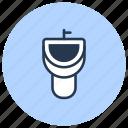 bathroom, pissoir, toilet, urinal icon