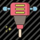 auger, drain, plumbing, tool icon