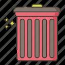 disposal, garbage, trash icon