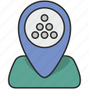 map, place, poi, pointer, stones icon