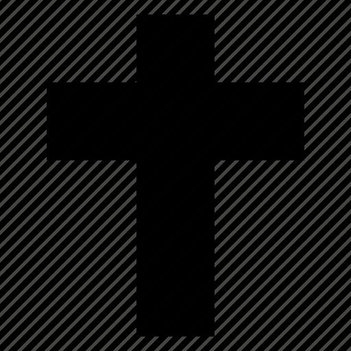 christmas, cross icon