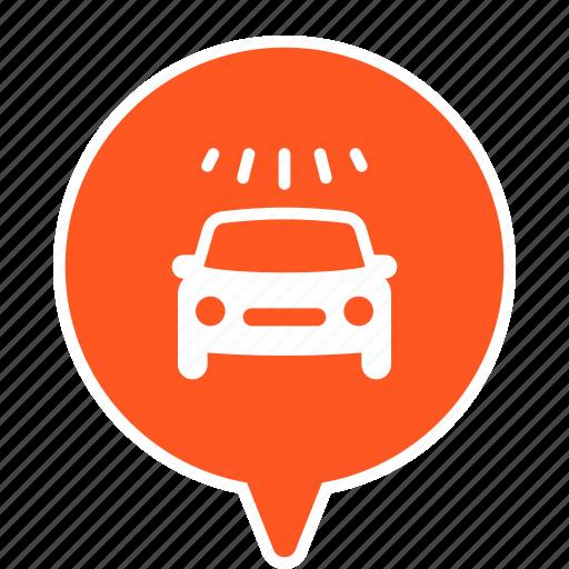 car, car washing, wash icon