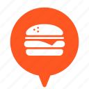 burger, fast, fastfood, food, hamburger, junk, junkfood icon