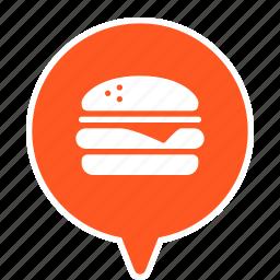 burger, fast, fastfood, food, hamburger, junk, junkfood icon