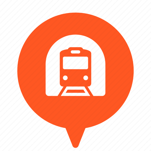 metro, public, railway, subway, transport, transportation, underground icon