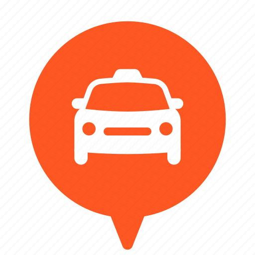 cab, car, taxi, taxicab, taxis, transport, transportation icon