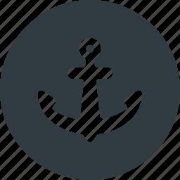 gps, harbor, interest, location, map, points, port icon