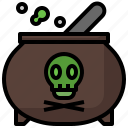 mortar, grinding, pestle, poison, death icon