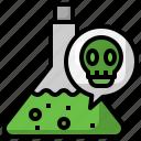 poison, venom, flask, dangerous, liquid
