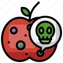 rotten, poisonous, dangerous, unhealthy