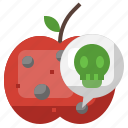 rotten, poisonous, dangerous, unhealthy icon