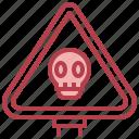 alert, danger, beware, warning, signaling icon