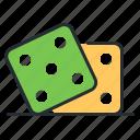 casino, dice, gambling, game