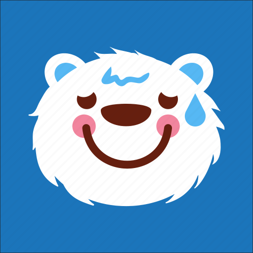 bear, face, random, smile icon