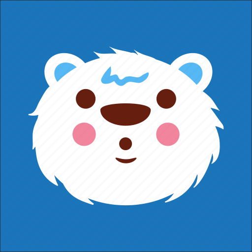 bear, face, suprise, wow icon