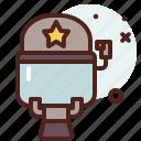 helmet, order, law, protect