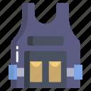 police, vest