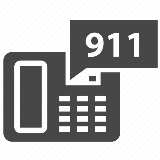 911, cell phone, device, emergency number, mobile, phone icon
