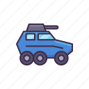 police, car, armoured icon