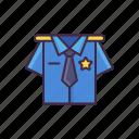 police, law, uniform