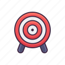 target, shooting, range icon