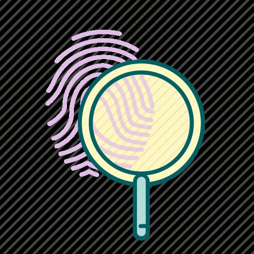 Fingerprint, justice, law icon - Download on Iconfinder