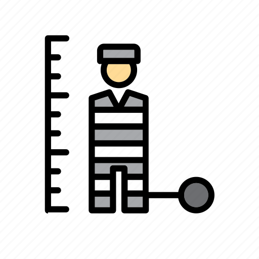 jail, man, people, police, prison, prisoner icon
