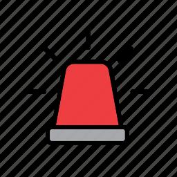 ambulance, car, emergency, enforcement, law, police, siren icon