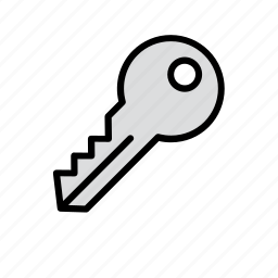 key, security icon