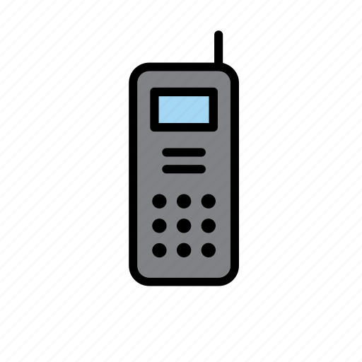 communication, device, phone, police, radio, walkie-talkie icon