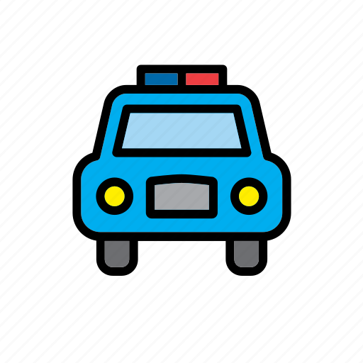 car, enforcement, law, police, protection, security, transport icon