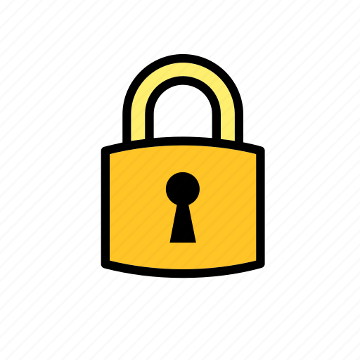 lock, locked, padlock, protection, security icon