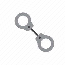 cuffs, handcuffs, jail, law, police, prison, prisoner icon