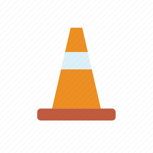 cone, enforcement, law, police, sign, traffic icon