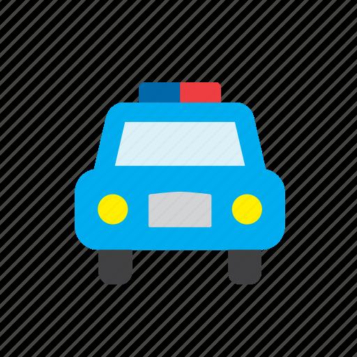 car, enforcement, law, police, transport icon