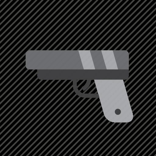 gun, handgun, pistol, police, weapon icon