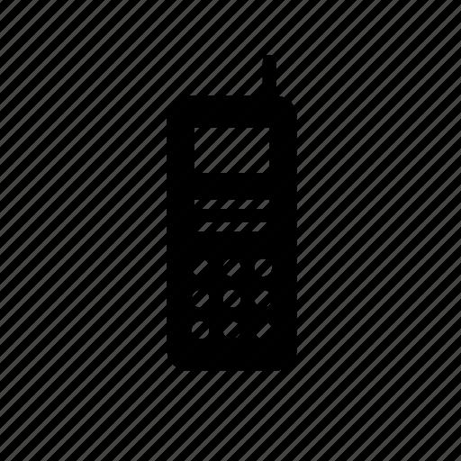 communication, device, phone, police, radio, walkie-talkie icon