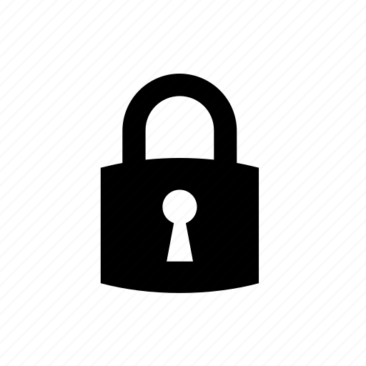 lock, locked, padlock, protected, protection, security icon
