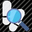 evidence, investigation, crime icon