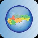 country, europa, europe, map, maps, regions, slovakia icon